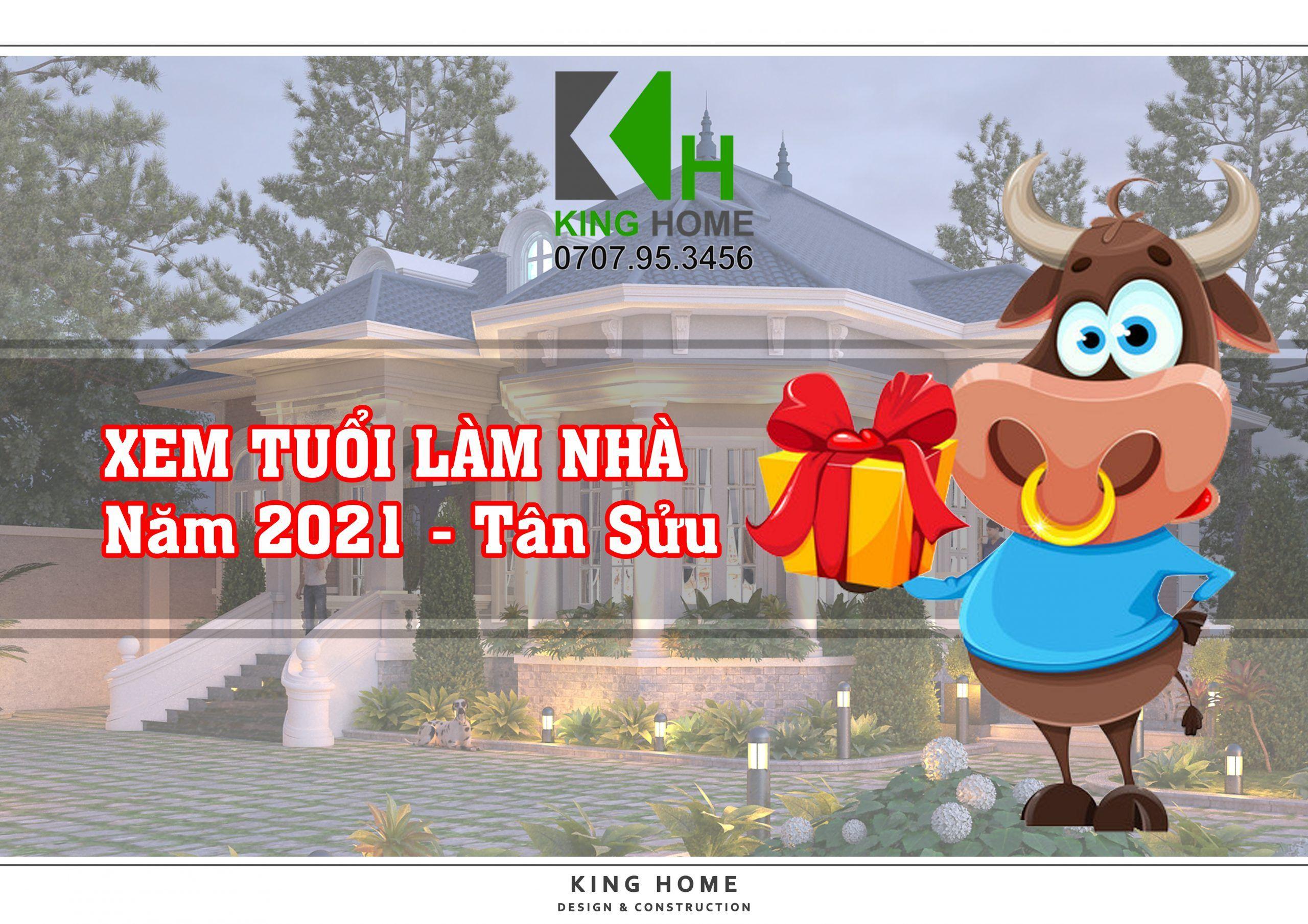 11 tuổi thích hợp xây nhà năm 2021 - Tân Sửu