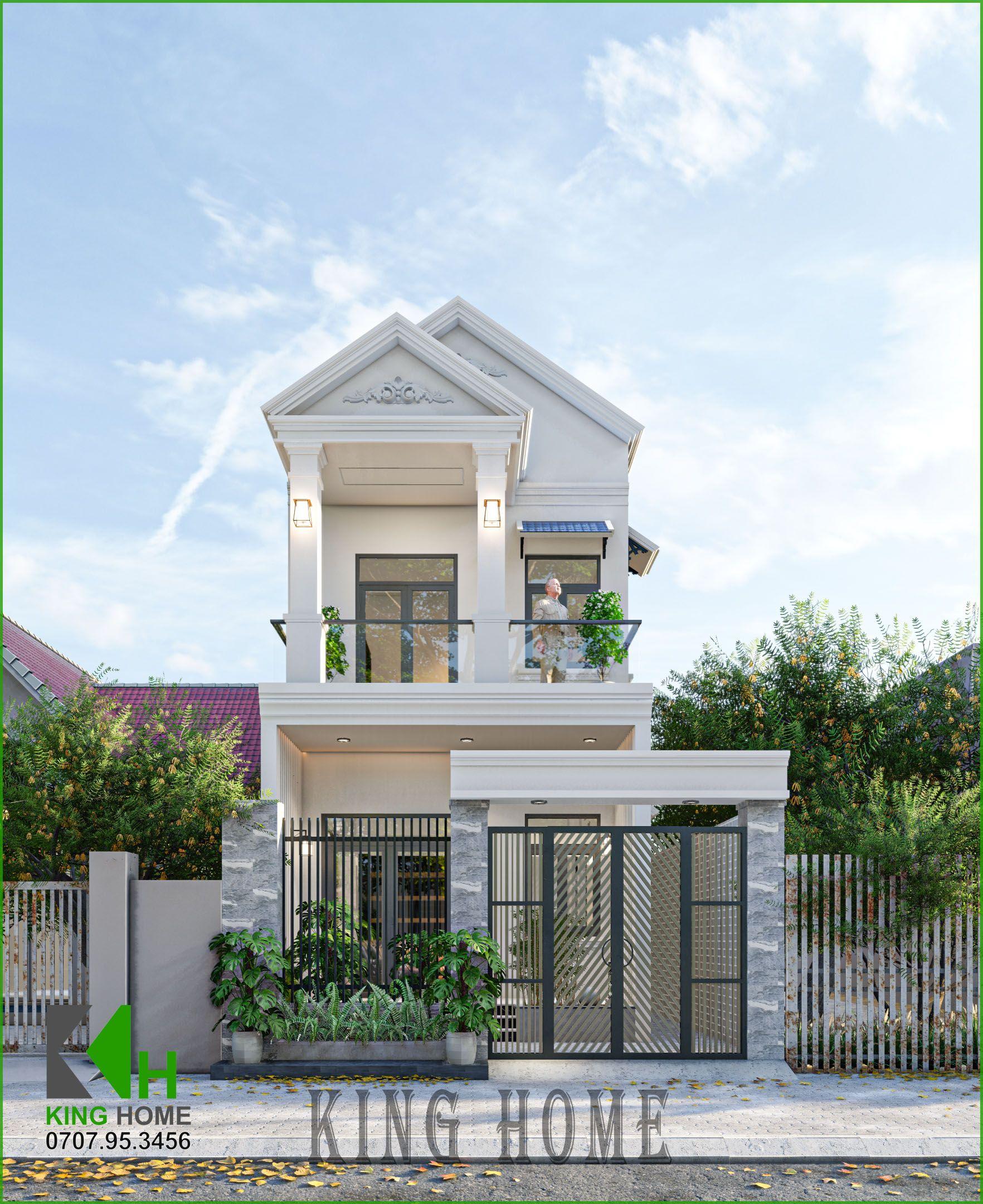 Thiết kế nhà phố 2 tầng & 3 tầng hiện đại