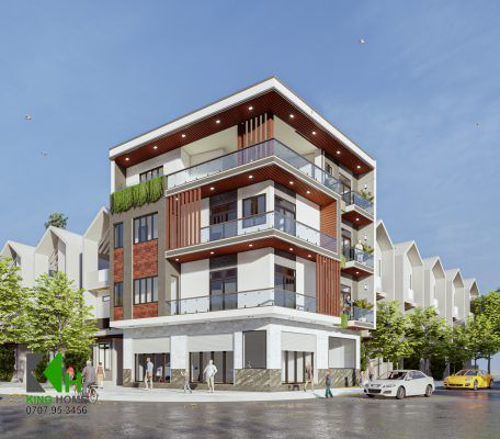Thiết kế nhà đẹp Quy Nhơn năm 2021