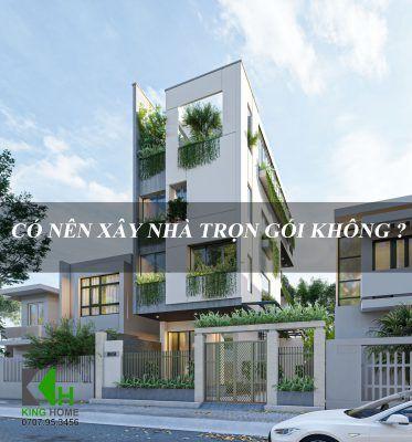 Dịch vụ xây nhà trọn gói giá rẻ tại Quy Nhơn