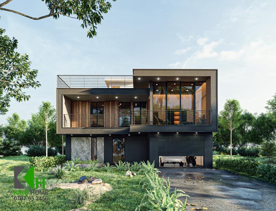 Nhà đẹp Quy nhơn - KIẾN TRÚC KING HOME