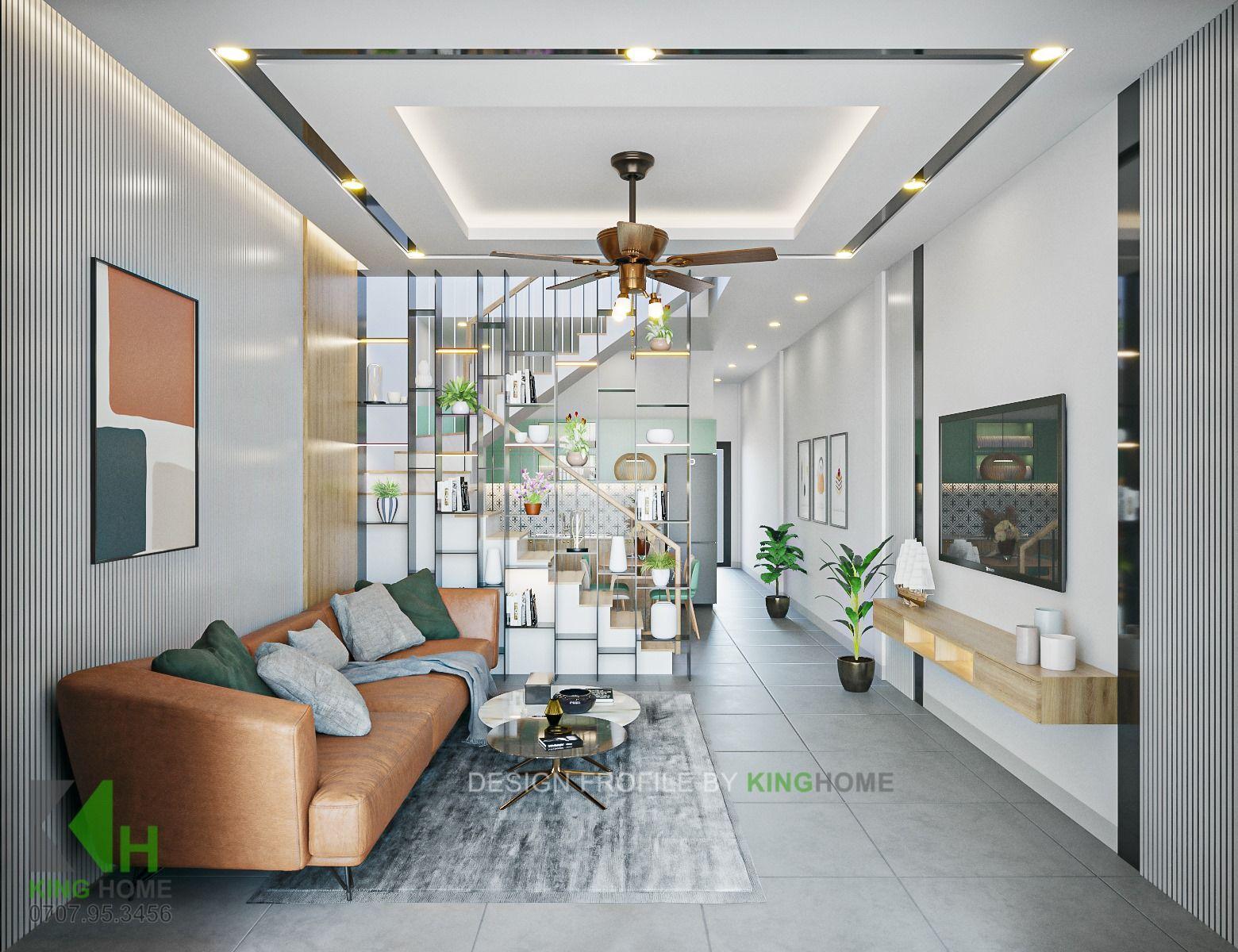 Nhà Anh Nam - Nhà phố 2 tầng được yêu thích nhất   Kiến Trúc King Home