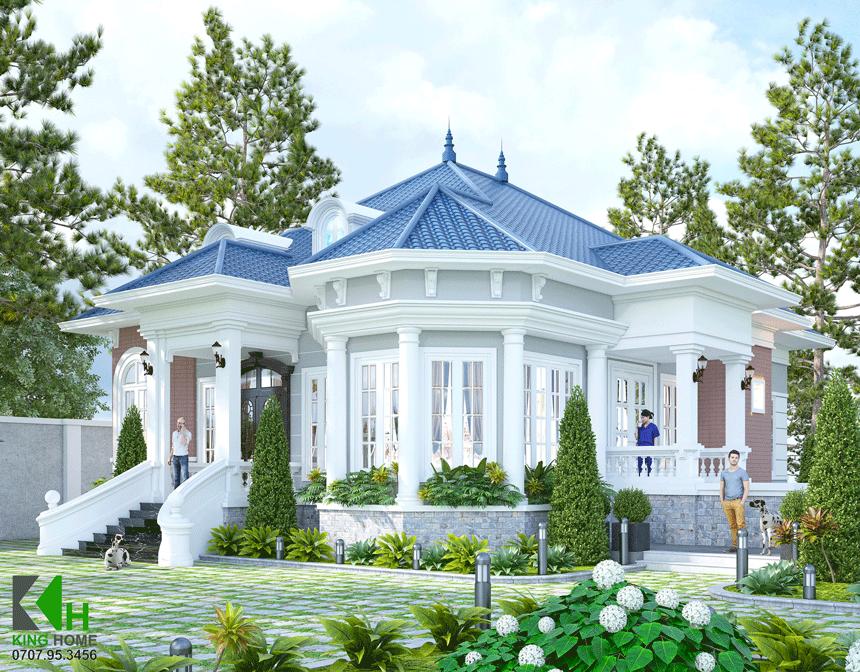 Nhà chú Hải - Biệt thự Tân Cổ Điển Sang Trọng