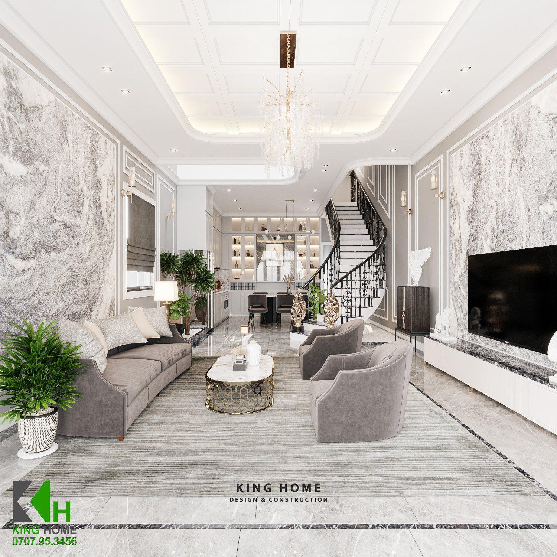 Nhà Chị My - Nhà phố Tân Cổ Điển vẻ đẹp vượt thời gian