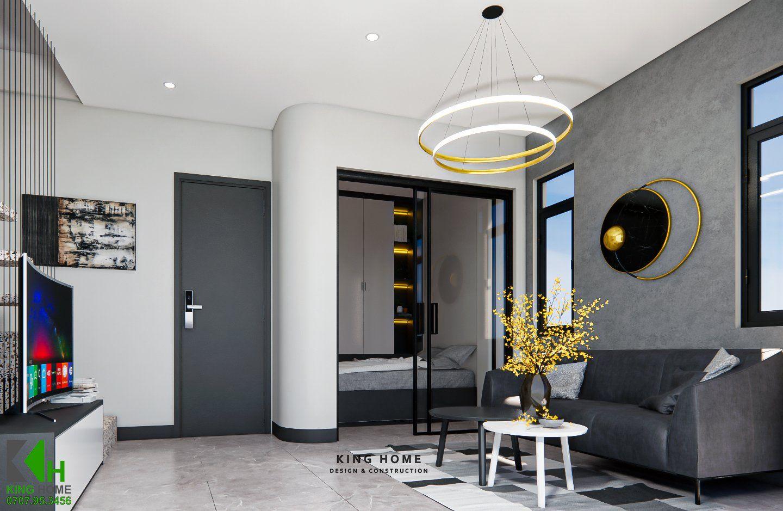 Nhà Anh Việt - Nhà phố không gian xanh 3 tầng