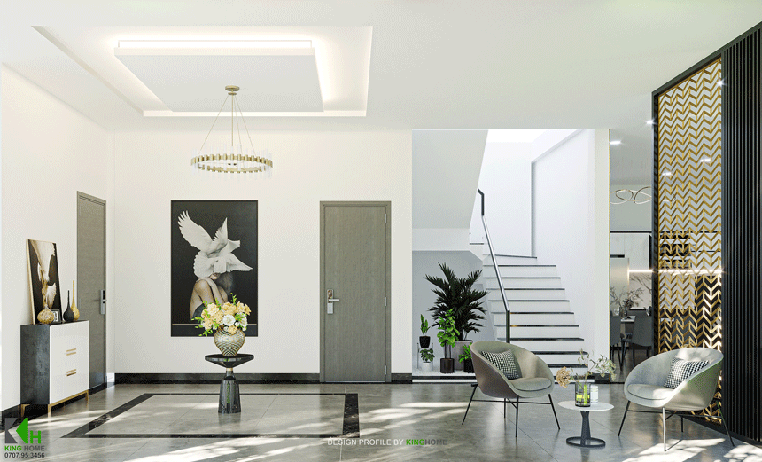 Nhà Chị Phụng - VILLA 2 tầng hiện đại tại vùng đất võ Tây Sơn
