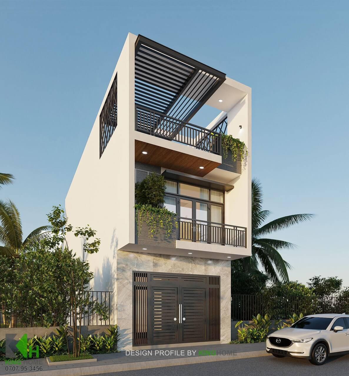 Nhà Chị Tú - Nhà phố không gian xanh hiện đại